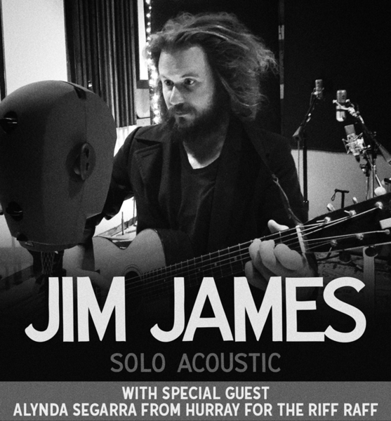Jim James Solo Acoustic Tour Announced