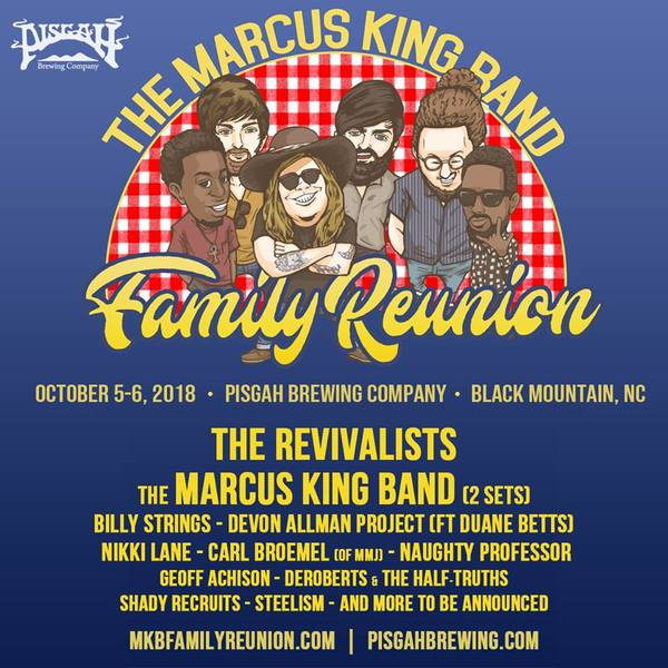 Carl Broemel Joins The Marcus King Band Family Reunion Festival