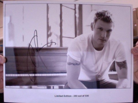 Limited Edition Autographed 8x10 Photo