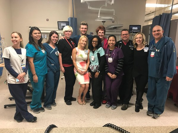 Nick Visits Patients at UMC in Las Vegas + Ways YOU Can Help
