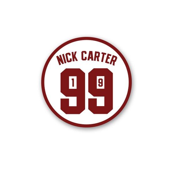 Nick Carter 1999 Patch