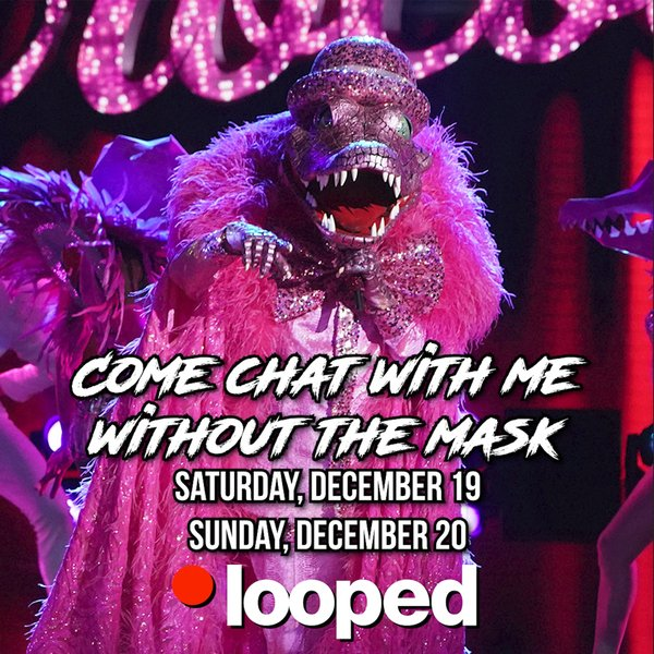 Chat With The Pink Croc on Looped Live! Meet & Greets On Sale Now