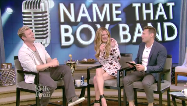 Nick Talks 'Boy Band', Backstreet, and Baby on Live With Kelly And Ryan
