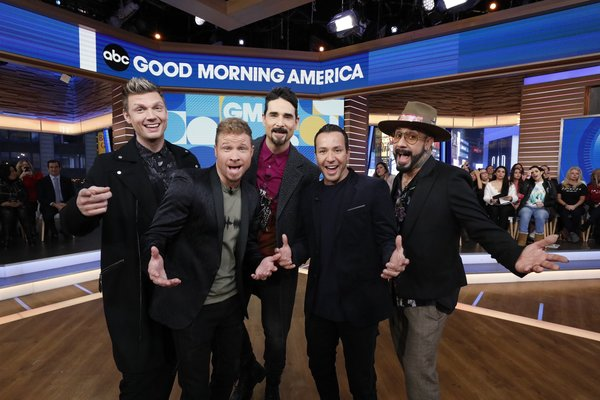 WATCH: BSB Takes NYC To Promote New Tour Dates