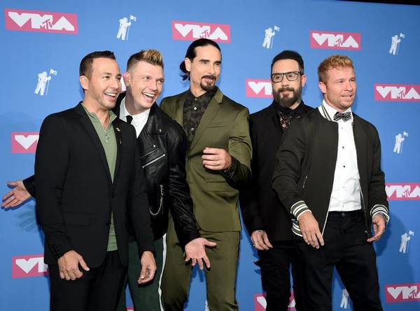 The Backstreet Boys Return To VMAs With Rooftop Performance