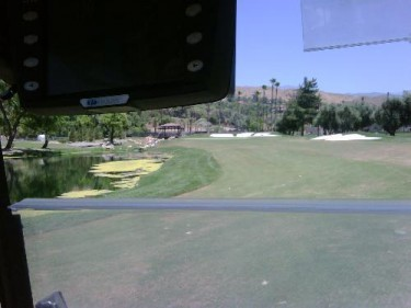 I seriously suck in golf. Lol