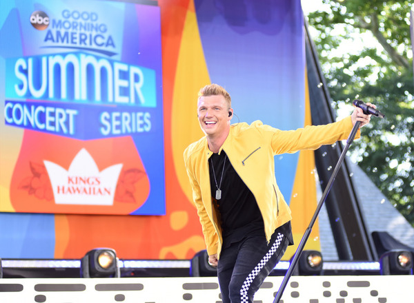 Nick Carter Returns To 'Good Morning America' With The Backstreet Boys