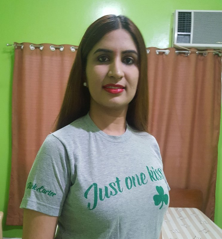 """I love my #JustOneKiss Tee. It's so comfortable and it fits perfectly (runs true to size)."" - Sapna"