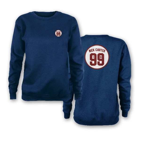 Nick Carter 1999 Indigo Sweatshirt