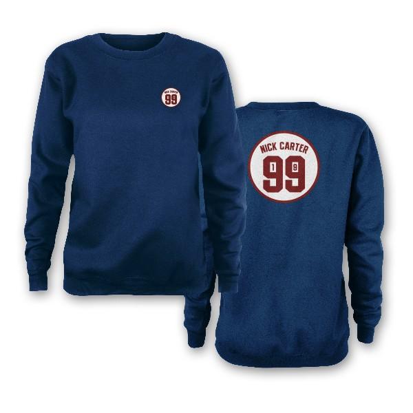 Nick Carter 1999 Indigo Sweatshirt