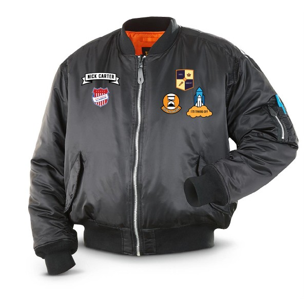 Nick Carter Flight Jacket image