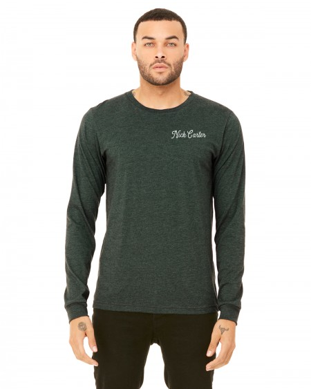 Exclusive Carter Long Sleeve Navy Tee image