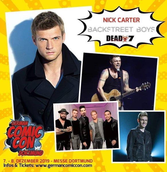 Nick Carter To Attend German Comic Con In December