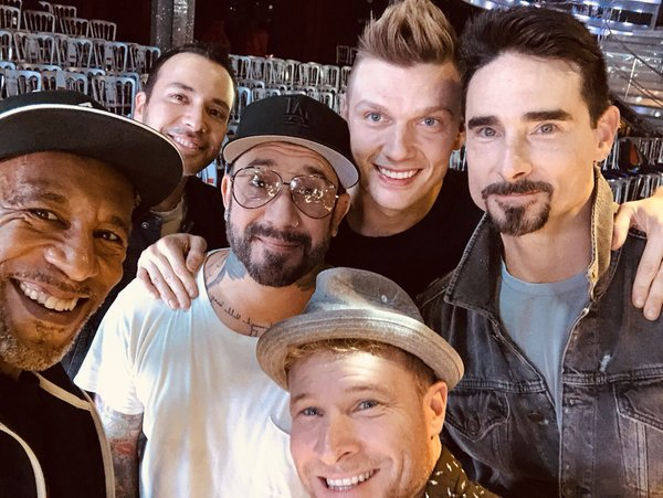 LA to London: Nick Spends Weekend In The UK With BSB