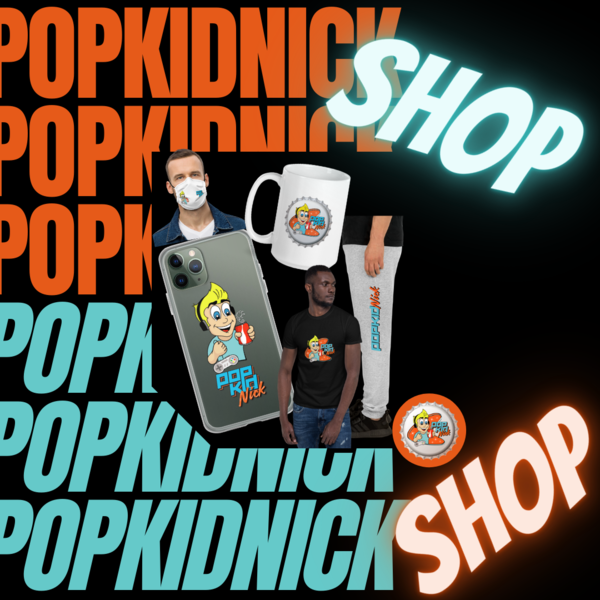 PopKidNick Merch Now Available!