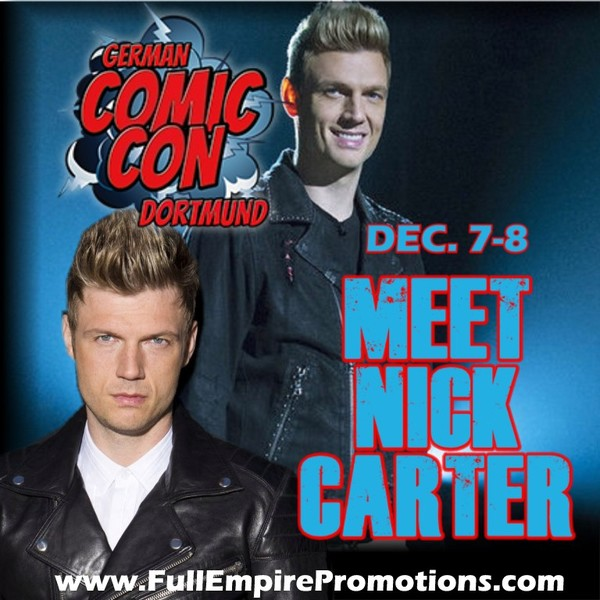 Nick Carter At German Comic Con: Everything You Need To Know