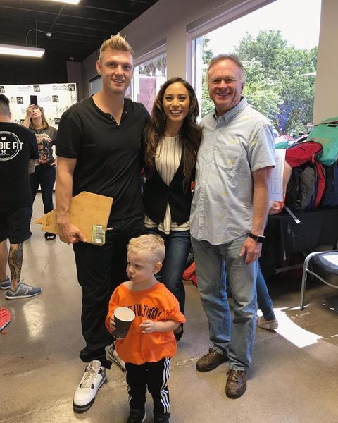 Nick Carter Helps Vegas Community 'Prep For School'