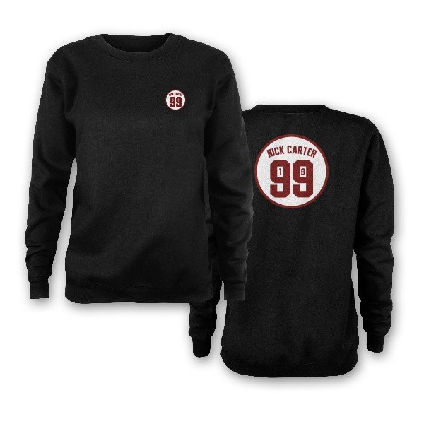 Nick Carter 1999 Black Sweatshirt