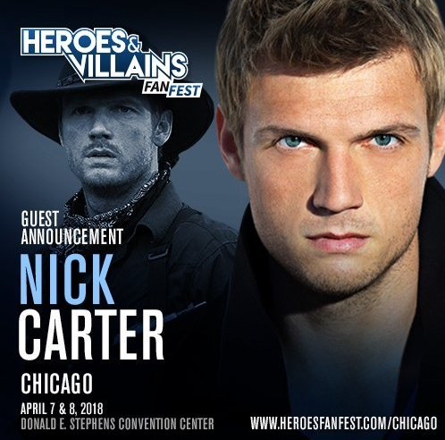Nick Joins Walker Stalker Con In Chicago