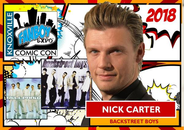 Nick to Attend Knoxville Fanboy Expo Comic Con June 29 - July 1