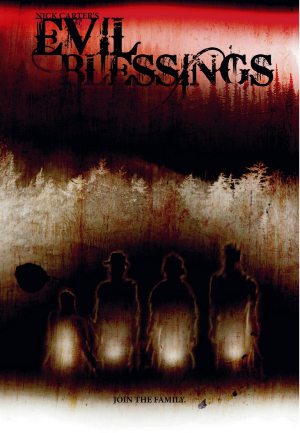 Autographed Evil Blessings Poster