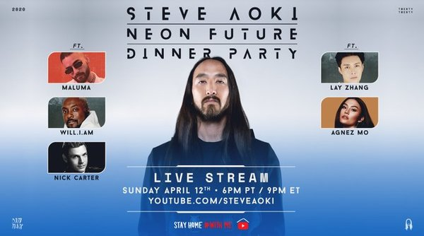 TUNE IN: Nick Carter Is Joining Steve Aoki For Dinner