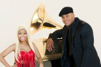 54th Annual Grammy Awards Promotional Shoot w/ LL Cool J