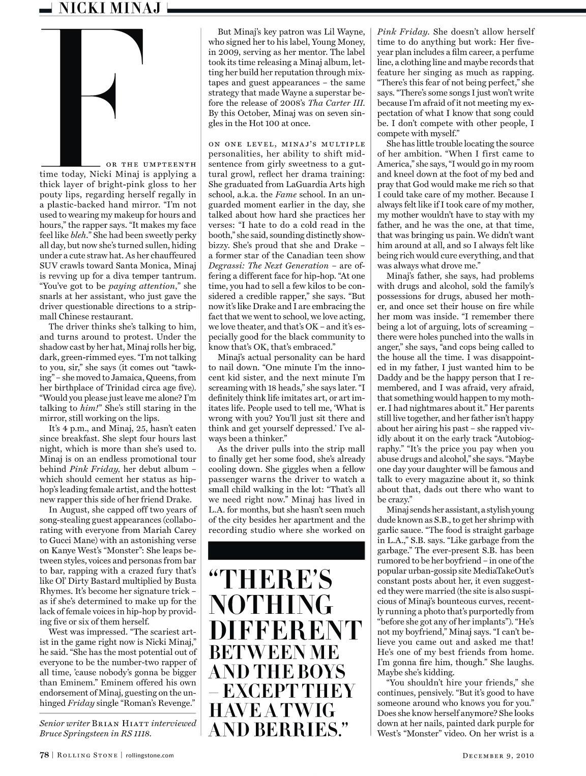 December 2010 Issue