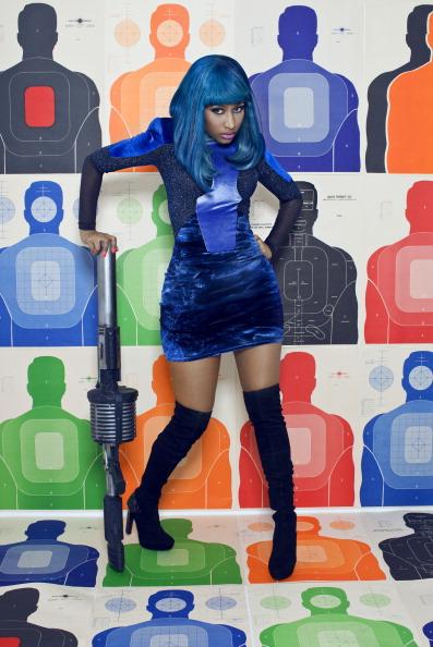 Nicki Minaj in XXL Magazine