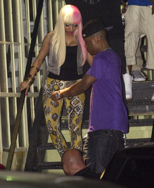 Nicki Minaj Leaving