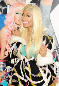 Nicki Minaj Celebrates MAC Viva Glam At MAC At Selfridges