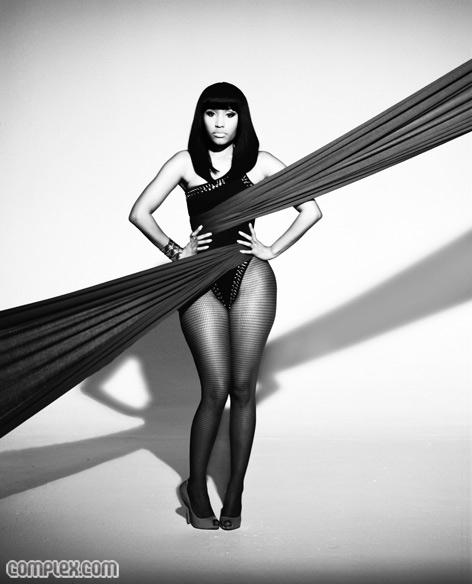Nicki Minaj featured in Complex Magazine