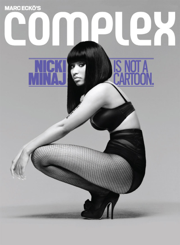 Nicki Minaj Covers Complex Magazine