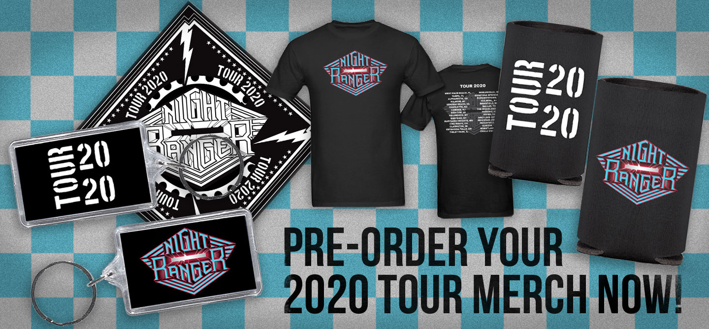 2020 Night Ranger Merch