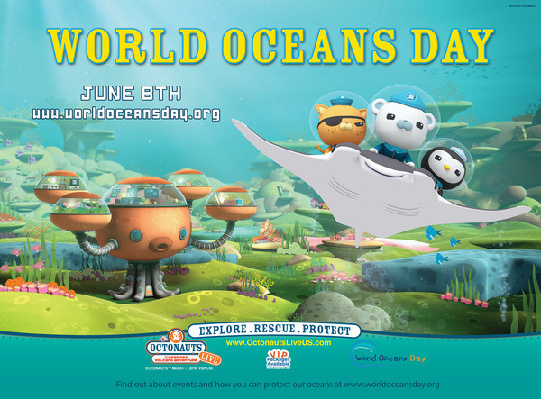 Octonauts & World Oceans Day