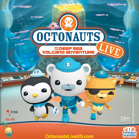 Win Tickets + Grand Prize of 4 VIP Party Packages to an Octonauts Live Show Near You!