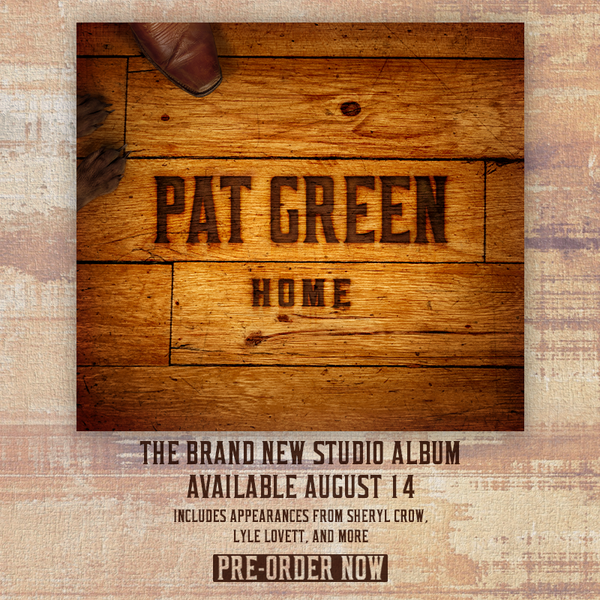 Pre-Order Pat's Brand New Album 'HOME' Now and Get 4 Songs Instantly