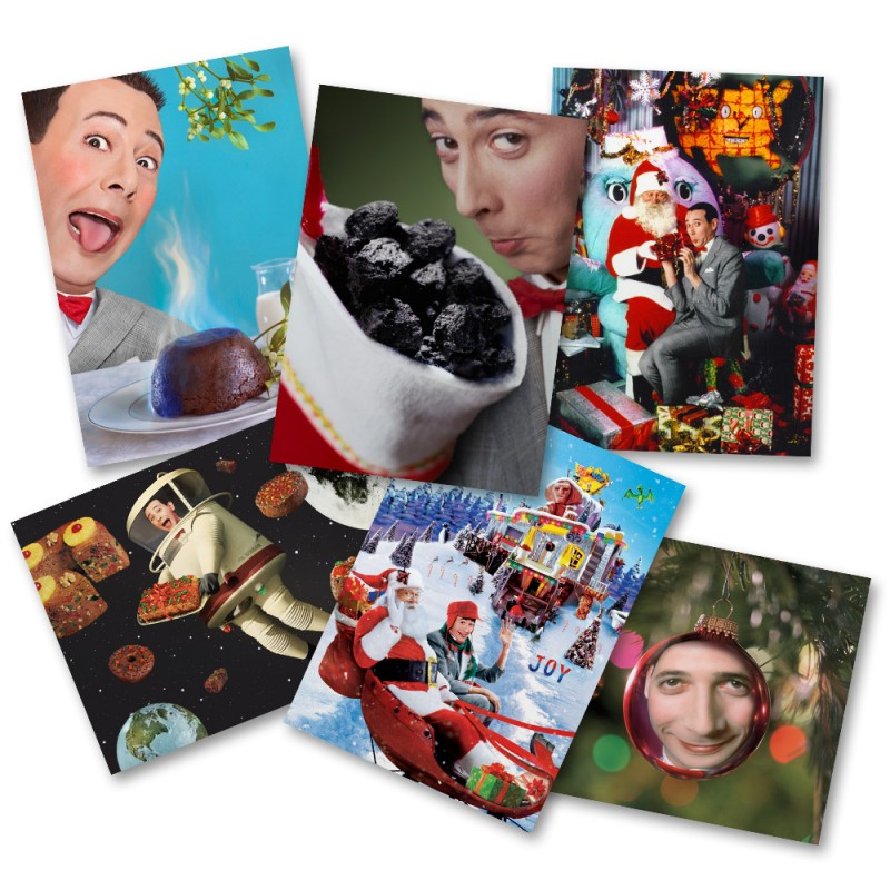 Pee-wee Holiday Card Set image