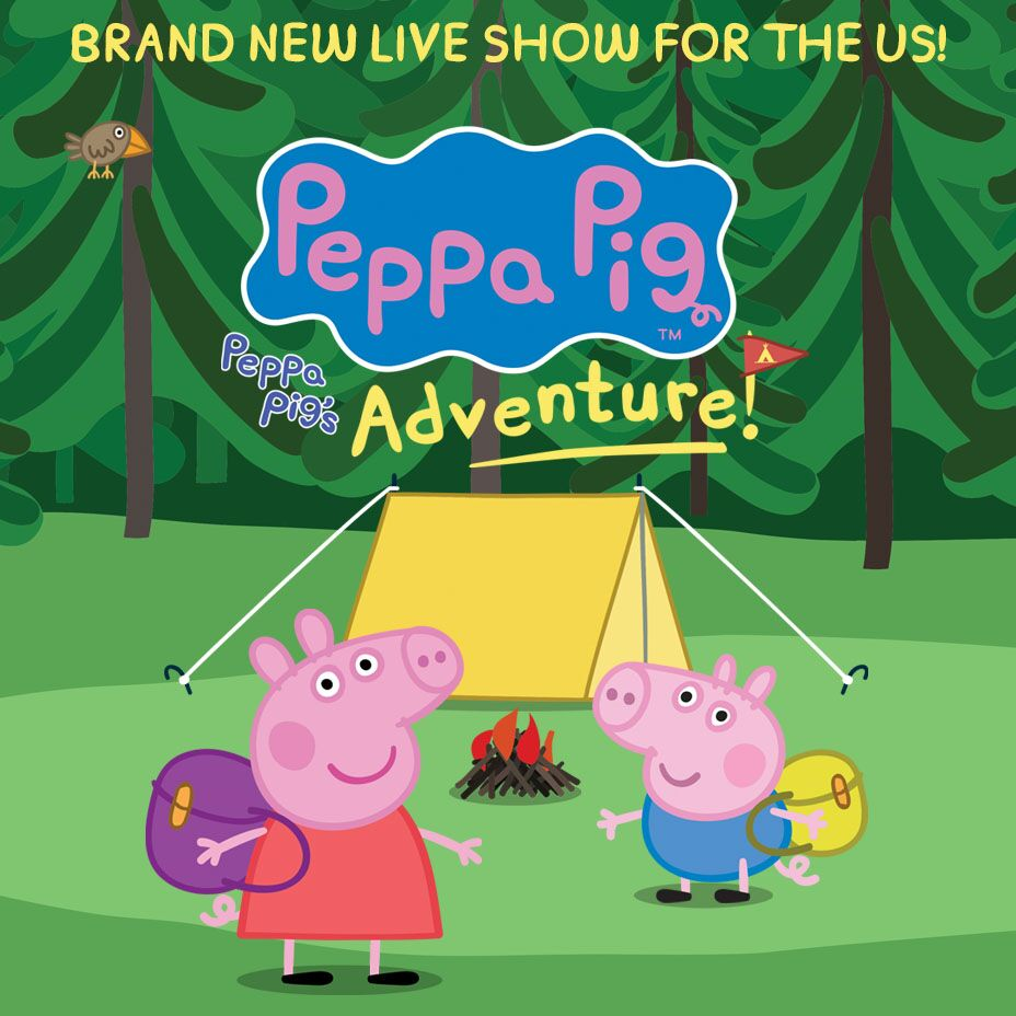 PEPPA PIG LIVE IN THE U.S.!