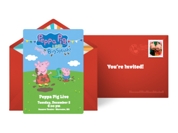 Peppa Pig Live Surprise Official Site