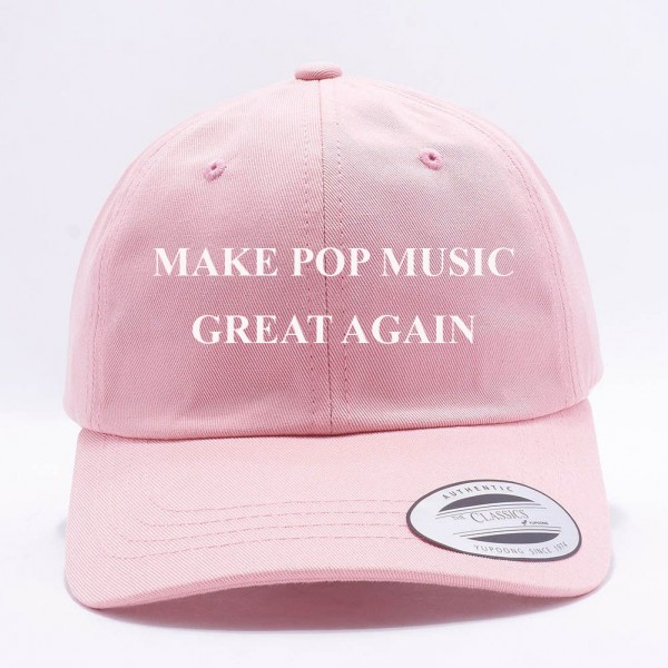 Make Pop Music Great Again Dad Hat image