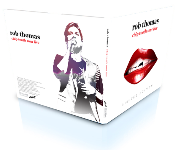 Limited Edition Live CD sets available for All Rob Thomas Australian Shows!