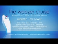 the weezer cruise bands preview