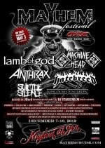 Mayhem Fest Cruise 2012