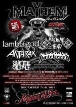 Mayhem Fest Cruise 2012