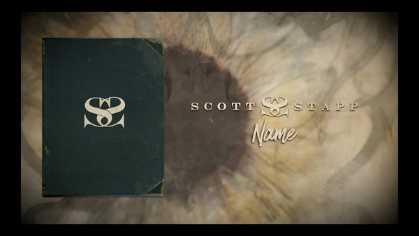 SCOTT STAPP - Name (Visualizer Video)