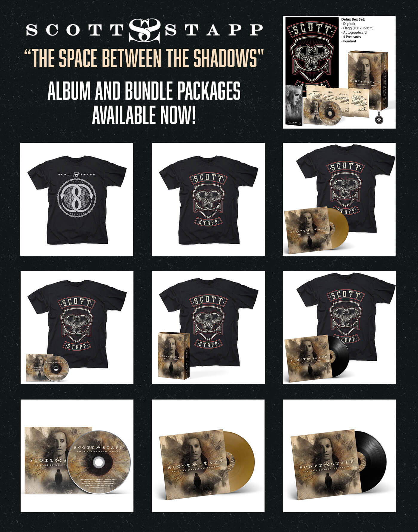 Album Bundles Available Now