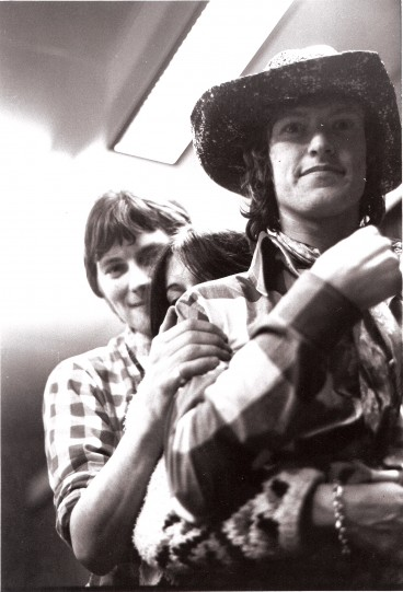 Steve Winwood and Chris Wood, circa 1967