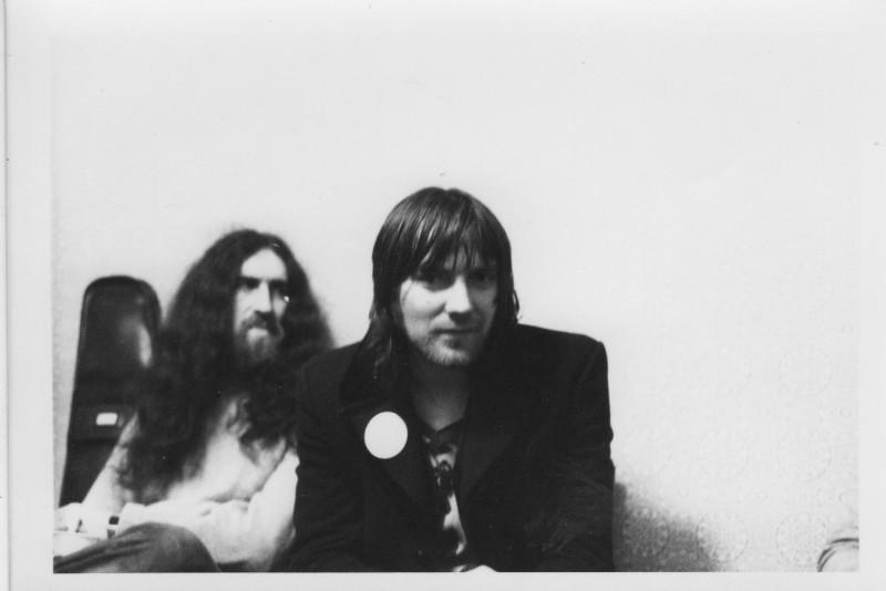 (L to R): Viv Phillips and Chris Wood circa 1974