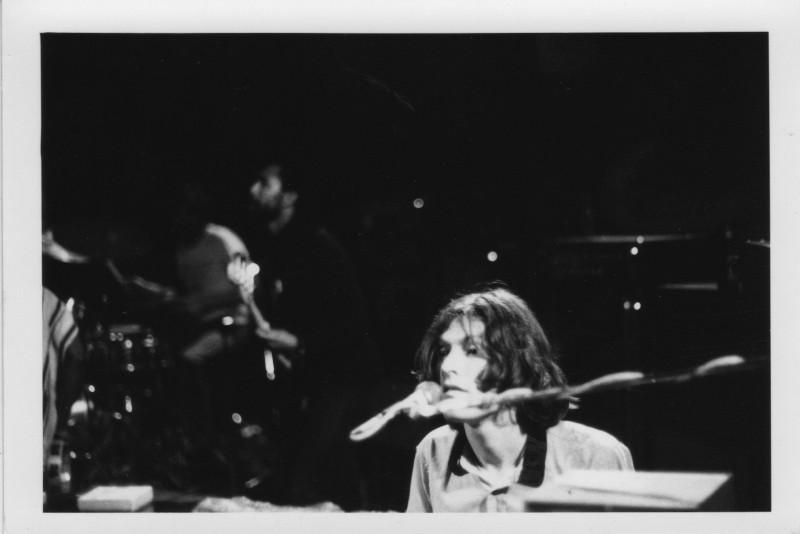 (L to R): Jim Capaldi, Rosko Gee, Steve Winwood, circa 1974